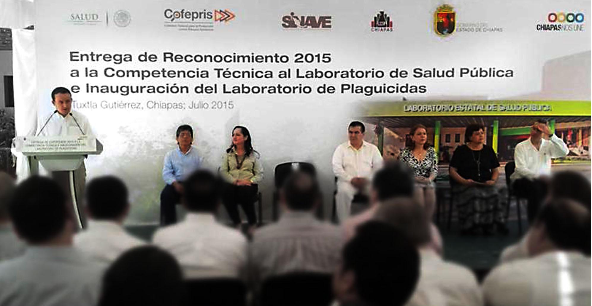 """Primer laboratorio en obtener el """"Reconocimiento a la Competencia Técnica 2015"""""""
