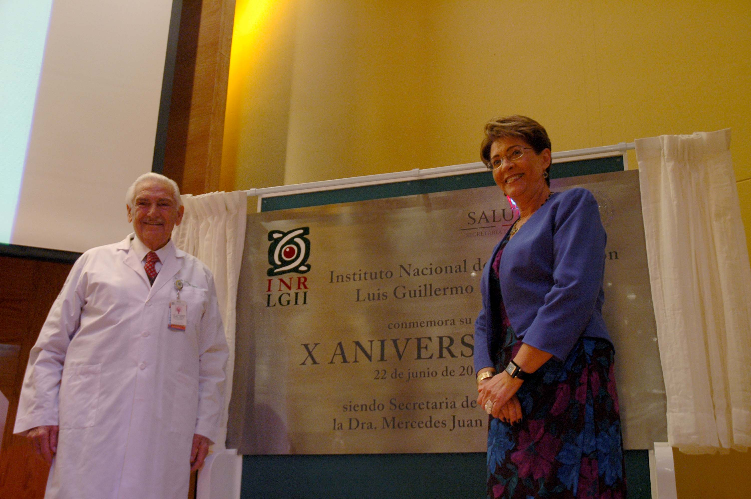 La Secretaria de Salud, Mercedes Juan, encabezó el 10 Aniversario del Instituto Nacional de Rehabilitación