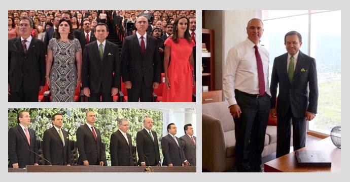 Asiste el Secretario Guajardo al VI Informe del gobernador de Querétaro