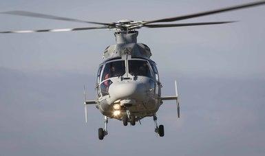 Recibe la Armada de México Helicópteros Panther AS-565 MBe