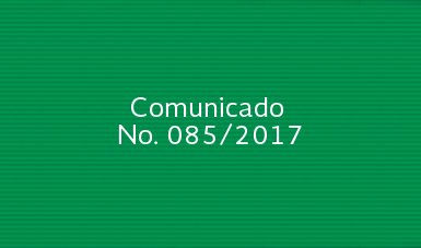 Comunicado No. 085