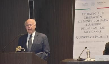 Dr. José Narro Robles.