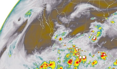 Para las próximas horas se pronostican tormentas intensas en Chiapas, Guerrero, Oaxaca y el sur de Veracruz.