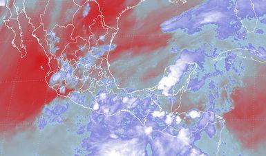 Se mantiene el pronóstico de tormentas intensas para Guerrero, Oaxaca, Chiapas y el sur de Veracruz en las próximas horas.