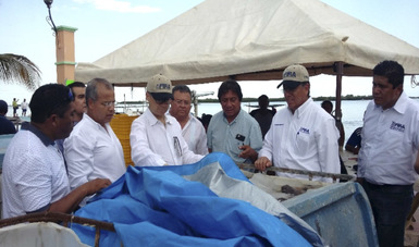 FIRA Fortalece La Pesca Ribereña En Yucatán