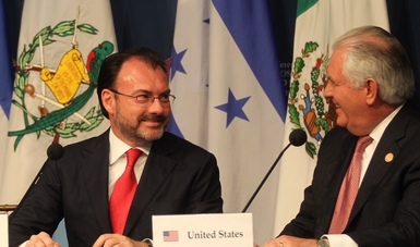 Press conference at the Conference on Prosperity and Security in Central America