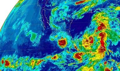 Se pronostican tormentas intensas para Tabasco, Chiapas, Campeche, Yucatán y Quintana Roo.
