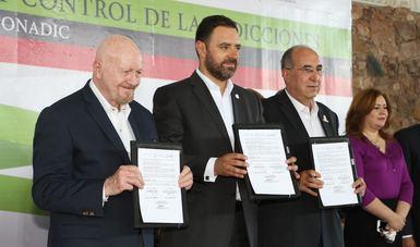 Estado de Zacatecas también contempla la aplicación del Alcoholímetro y la promoción de espacios 100% libres de humo de tabaco en la entidad.