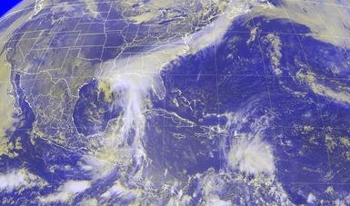 Se formó la tormenta tropical Cindy en el Golfo de México