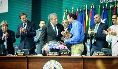 Concluye el 47 Periodo Ordinario de Sesiones de la Asamblea General de la OEA