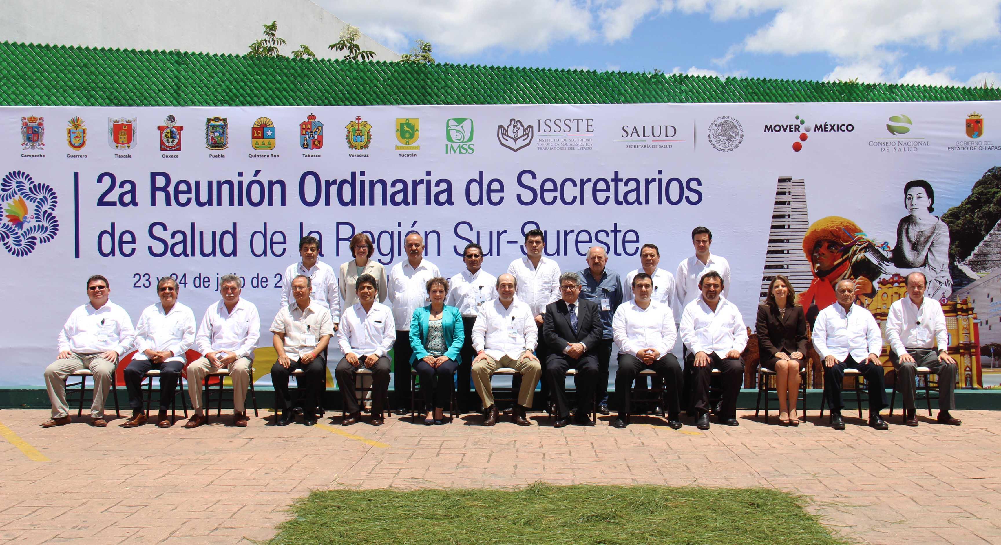 Se instala la Comisión Para la Atención de la Salud de los Migrantes en la Frontera Sur