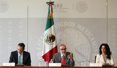 Conferencia de prensa del Subsecretario para América del Norte, Carlos Sada Solana