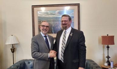 Subsecretario para América del Norte realiza visita de trabajo a Denver, Colorado