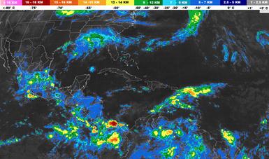 Se pronostican tormentas intensas en Veracruz, Oaxaca y Chiapas