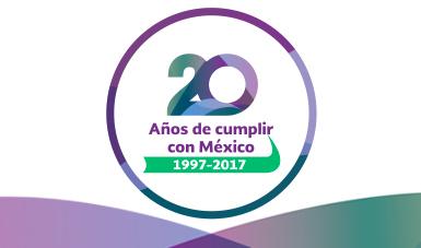 Conmemora SAT, con logros institucionales, 20 años de cumplir con México