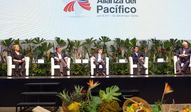"""""""Creo que la Alianza del Pacífico debe, y estamos trabajando precisamente en potenciar nuestro nivel de intercambio comercial, de servicios y de capitales, a través del uso de la tecnología digital"""": EPN"""
