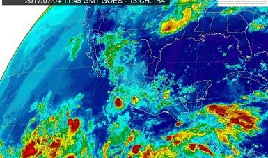 Se prevén tormentas muy fuertes en Michoacán, Guerrero y el Estado de México.