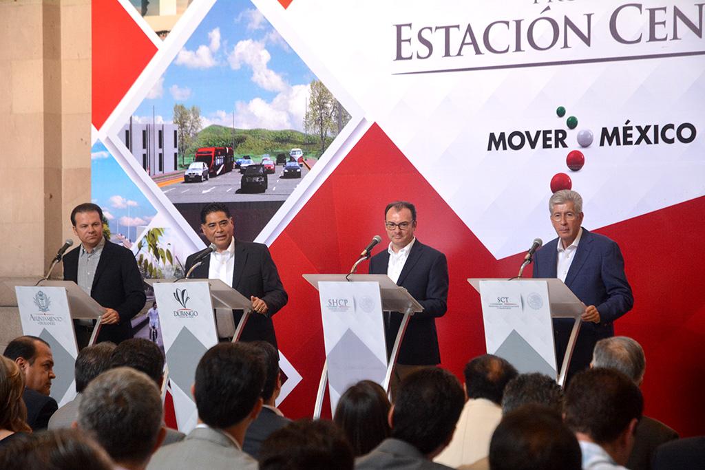 Anuncian inversión inicial de 344 mdp para nueva estación central de ferrocarril en Durango