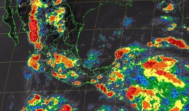 Tormentas muy fuertes se prevén para el Estado de México, Puebla, Veracruz, el sur y el occidente de México