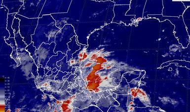 Para las próximas horas, se pronostican tormentas torrenciales en Puebla, Veracruz y Oaxaca
