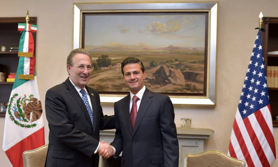 El Presidente Enrique Peña Nieto se reúne con el Embajador de Estados Unidos, Anthony Wayne