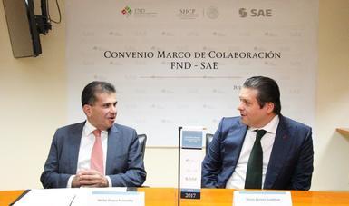 Convenio Marco de Colaboración SAE-FND
