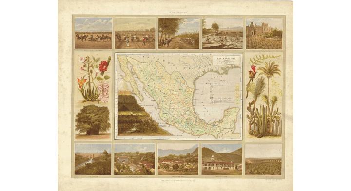Georreferenciacion de mapas hist ricos agricultura  destacada