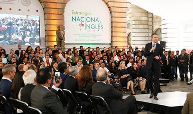 Presenta Nuño Mayer la Estrategia Nacional de Inglés, para que México sea bilingüe en 20 años