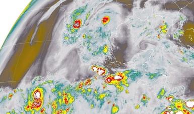En Sonora, Chihuahua, Durango, Sinaloa y el sur de México se prevén tormentas muy fuertes.