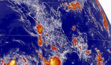 Se prevén tormentas intensas en Chiapas, y muy fuertes en otras nueve entidades de México.