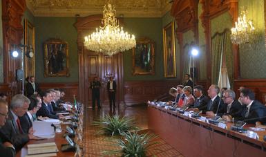 Es la primera Visita de Estado de un Presidente portugués a México desde hace 18 años.