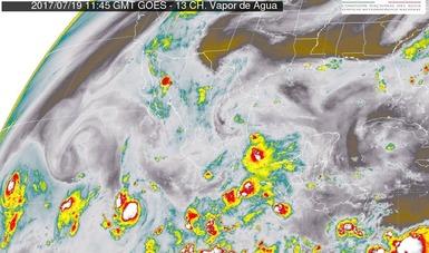 Se prevén tormentas muy fuertes en 10 entidades de México.