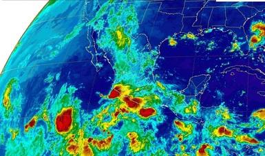 Se prevén lluvias en la mayor parte de México.