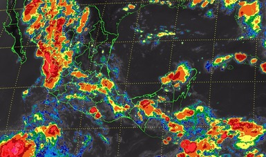 Esta noche se prevén tormentas muy fuertes en 14 estados de la República Mexicana