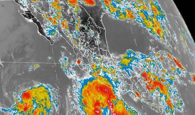 En Guerrero, Oaxaca y Michoacán se pronostican tormentas intensas