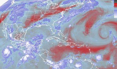 Se prevén, durante las próximas horas, tormentas intensas en Guerrero y Oaxaca.