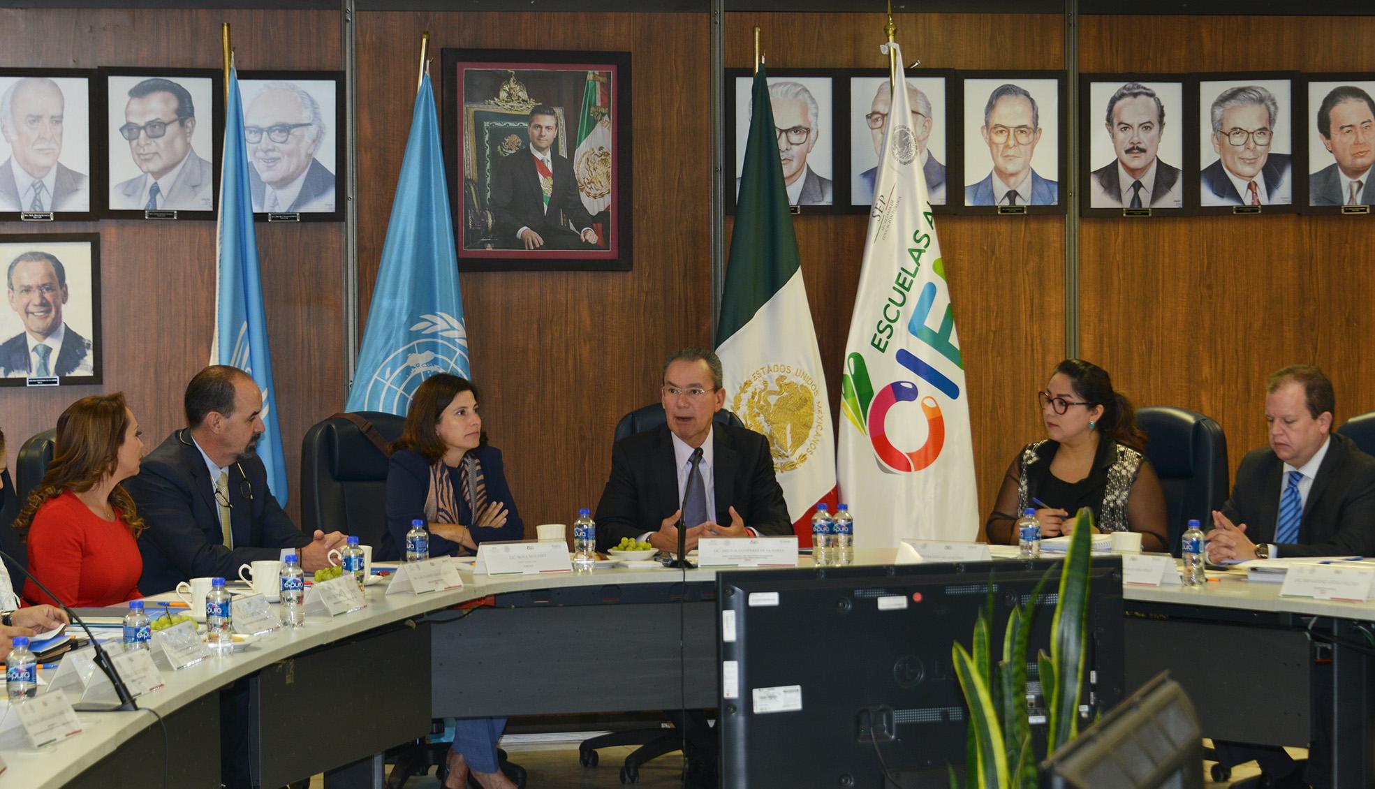 Comunicado 037 realizan inifed y oficina de la unesco en for Oficina nacional de fiscalidad internacional