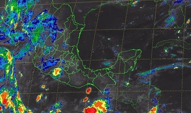Se pronostican tormentas intensas para Sonora y muy fuertes para Chihuahua, Durango, Jalisco y Michoacán