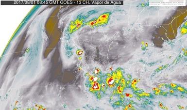 Tormentas intensas, se prevén para hoy en Sonora y Chihuahua
