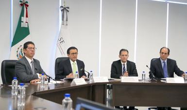 Presenta Secretaría de Economía  al equipo negociador para la modernización del TLCAN