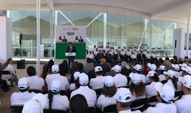 Inicia en Puebla programa Crezcamos Juntos, Afíliate