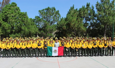 Mexico deploys 108 firefighters to Canada