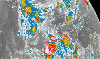 Se prevén lluvias, actividad eléctrica y granizadas en la mayor parte de México