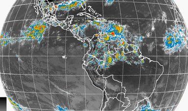 Para las próximas horas se pronostican tormentas muy fuertes en el norte, el noreste, el occidente y el sur de México.