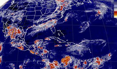 Para esta noche se pronostican tormentas intensas en Sonora, Chihuahua y Oaxaca.