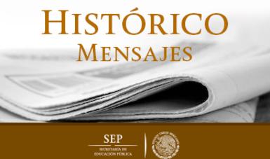 Histórico mensajes y entrevistas