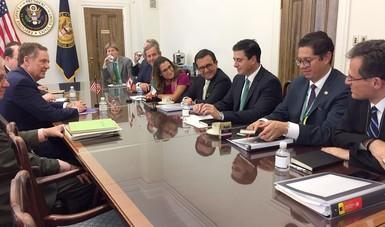 Reunión trilateral de la Primera Ronda de Negociaciones para la modernización de TLCAN