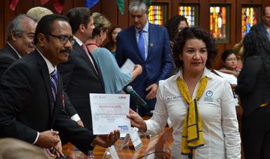 Durante la Feria de Organizaciones de la Sociedad Civil, celebrada en la Conferencia Interamericana de Seguridad Social, en el marco del 25 aniversario de la dependencia