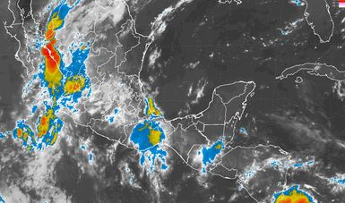 Tormentas muy fuertes se prevén en regiones de Chihuahua, Durango, Sinaloa, Nayarit, Jalisco y Michoacán