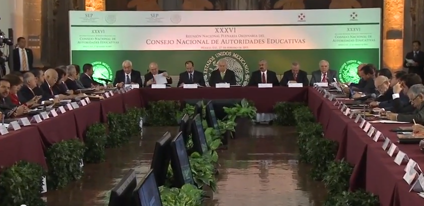 XXXVI Reunión Nacional Plenaria Ordinaria del Consejo Nacional de Autoridades Educativas